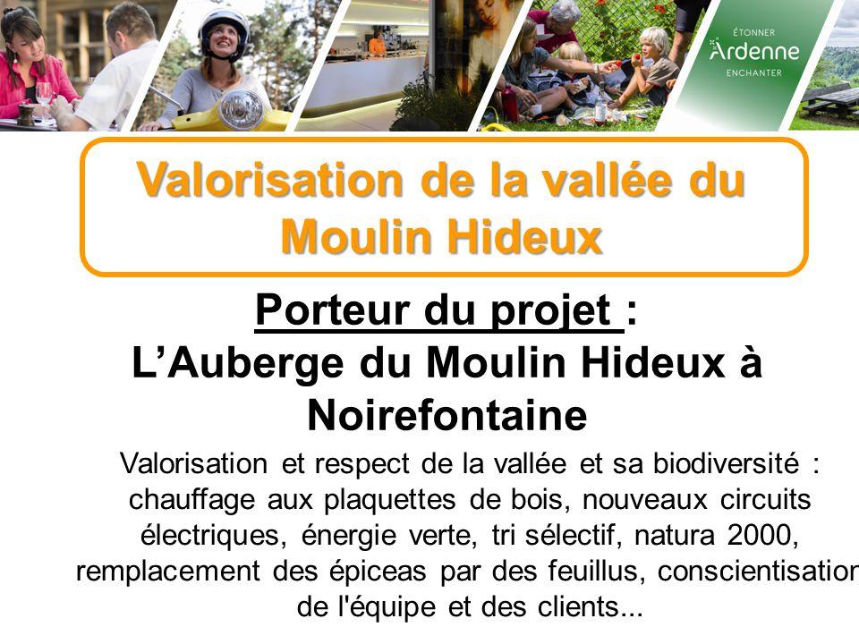 Valorisation de la vallée du Moulin Hideux