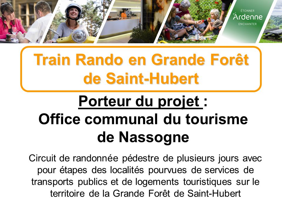 Train Rando en Grande Forêt Office communal du tourisme