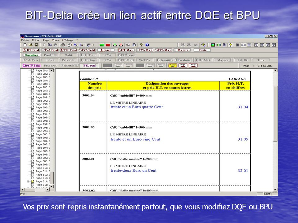 BIT-Delta crée un lien actif entre DQE et BPU