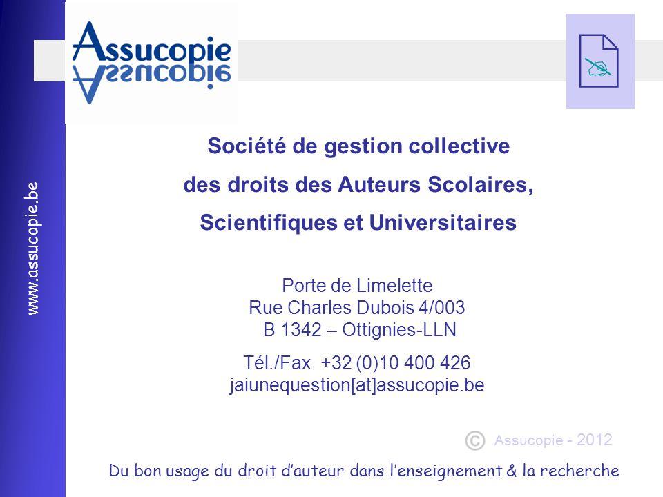 Société de gestion collective des droits des Auteurs Scolaires,