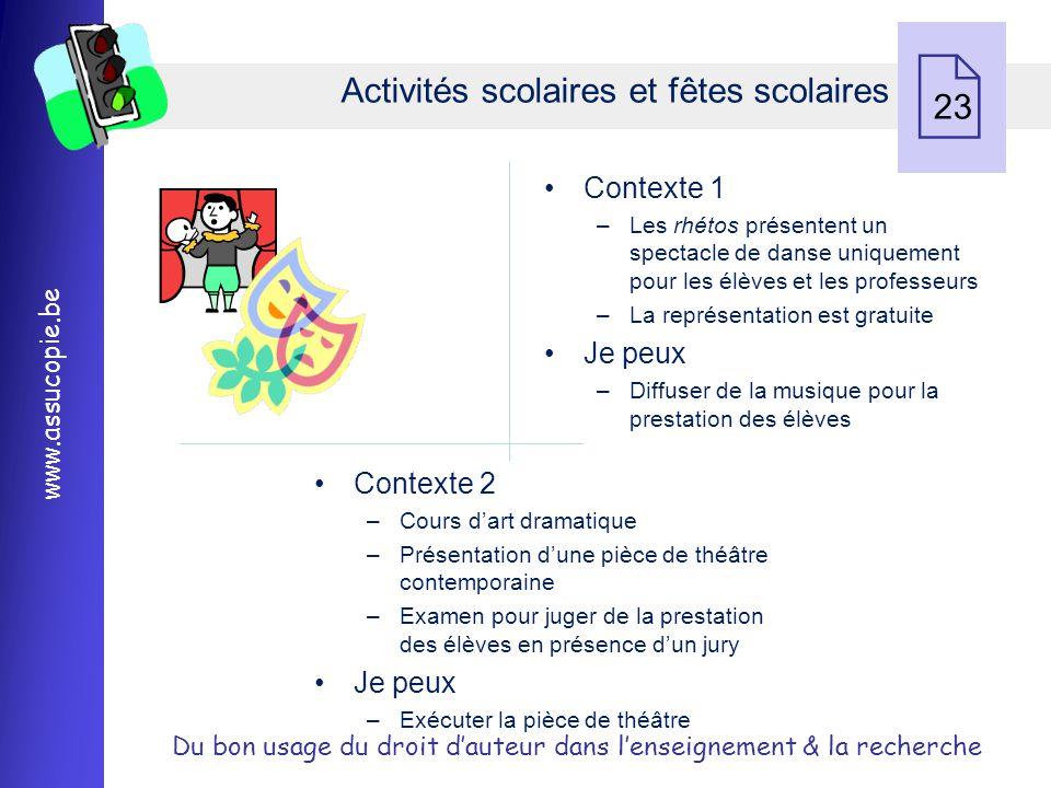Activités scolaires et fêtes scolaires 23