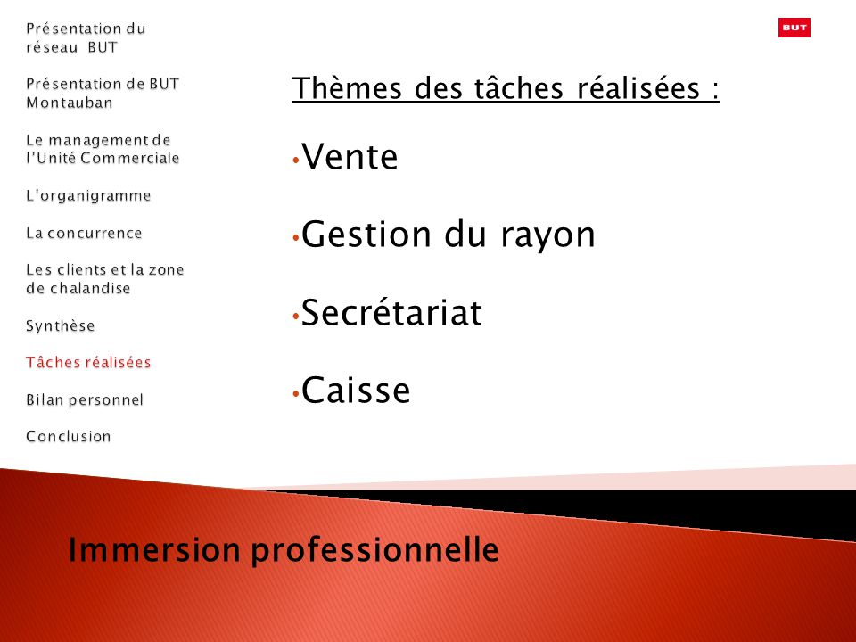 Immersion professionnelle