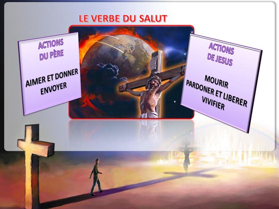 LE VERBE DU SALUT ACTIONS DU PÈRE ACTIONS DE JESUS AIMER ET DONNER