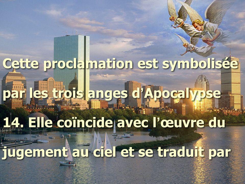 Cette proclamation est symbolisée