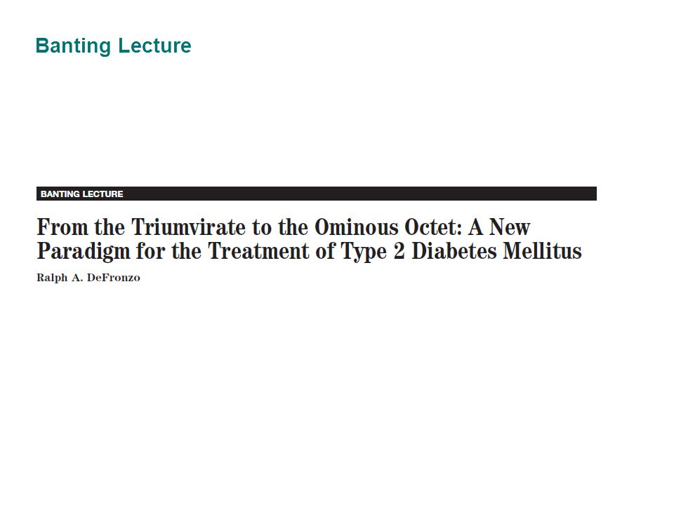 Banting Lecture 39