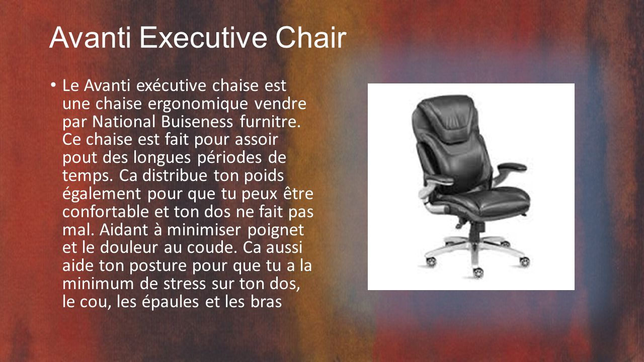 Avanti Executive Chair