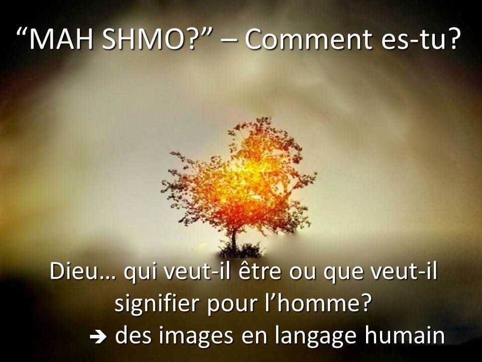 MAH SHMO – Comment es-tu