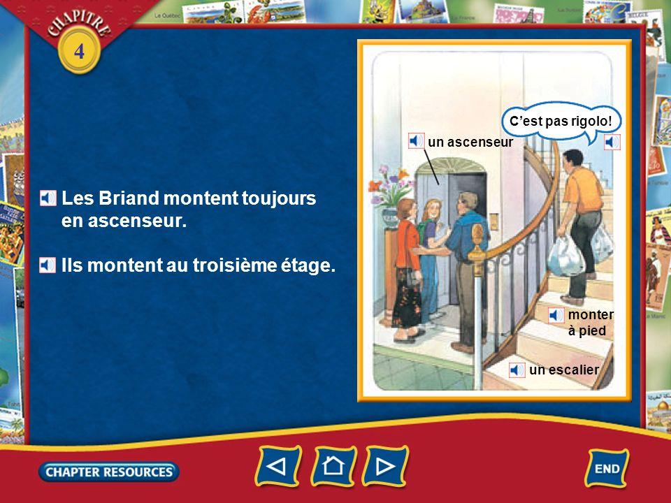 Les Briand montent toujours en ascenseur.