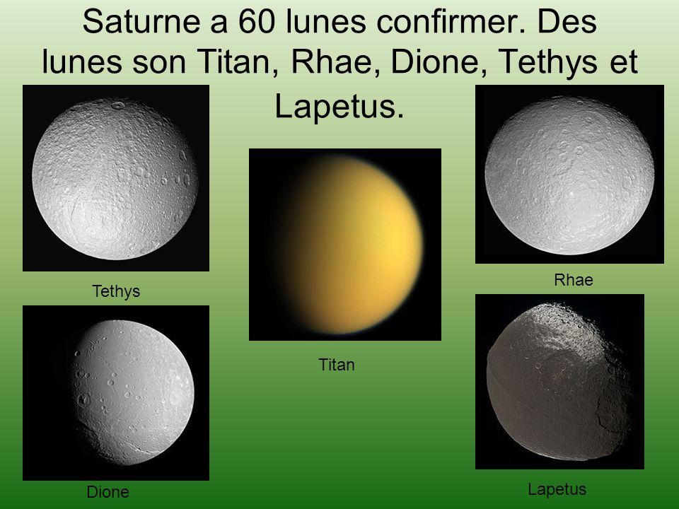 Saturne a 60 lunes confirmer