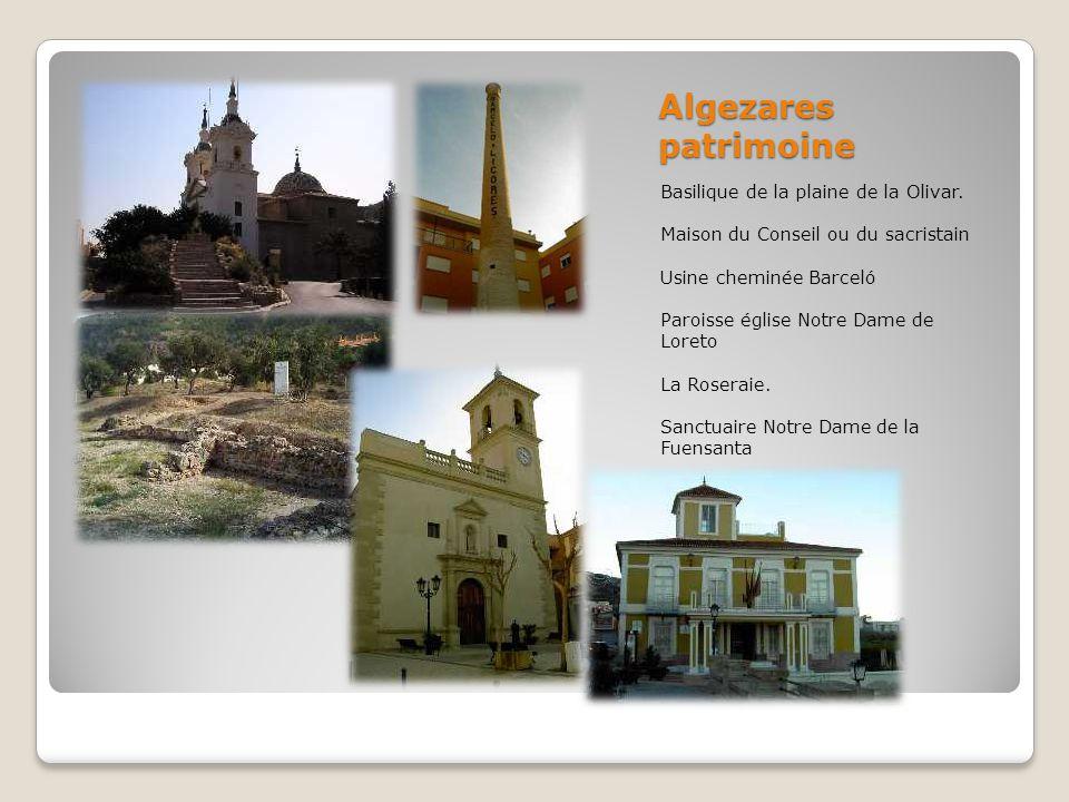 Algezares patrimoine Basilique de la plaine de la Olivar.