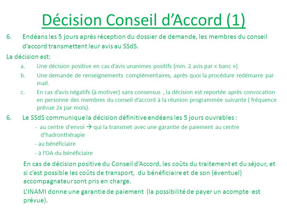 Décision Conseil d'Accord (1)