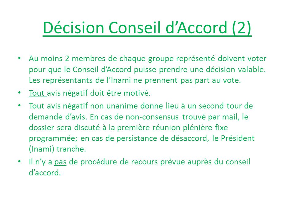 Décision Conseil d'Accord (2)