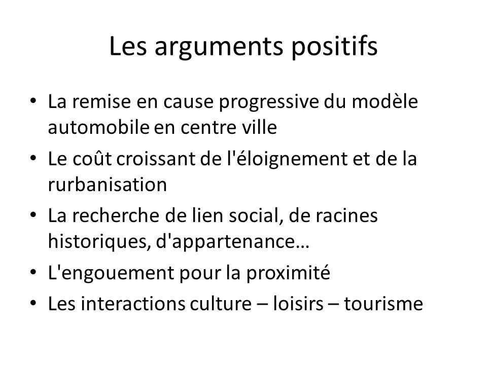 Les arguments positifs