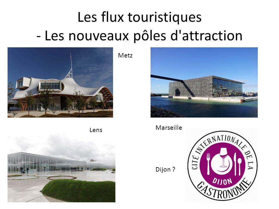 Les flux touristiques - Les nouveaux pôles d attraction