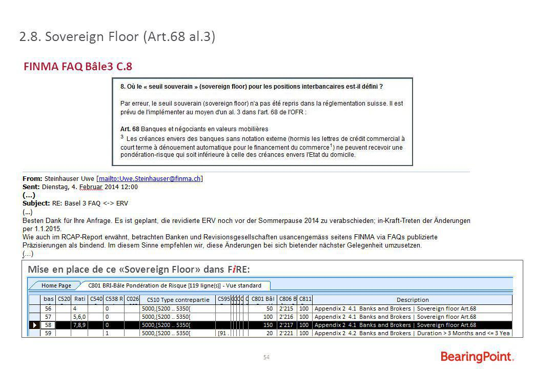 2.8. Sovereign Floor (Art.68 al.3)