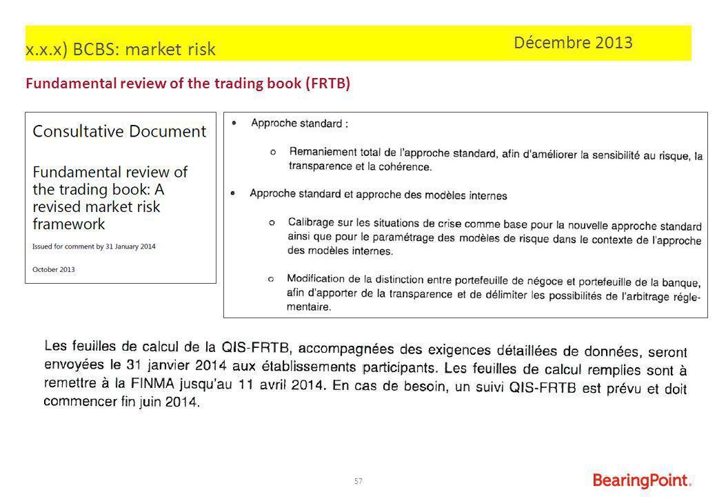 x.x.x) BCBS: market risk Décembre 2013