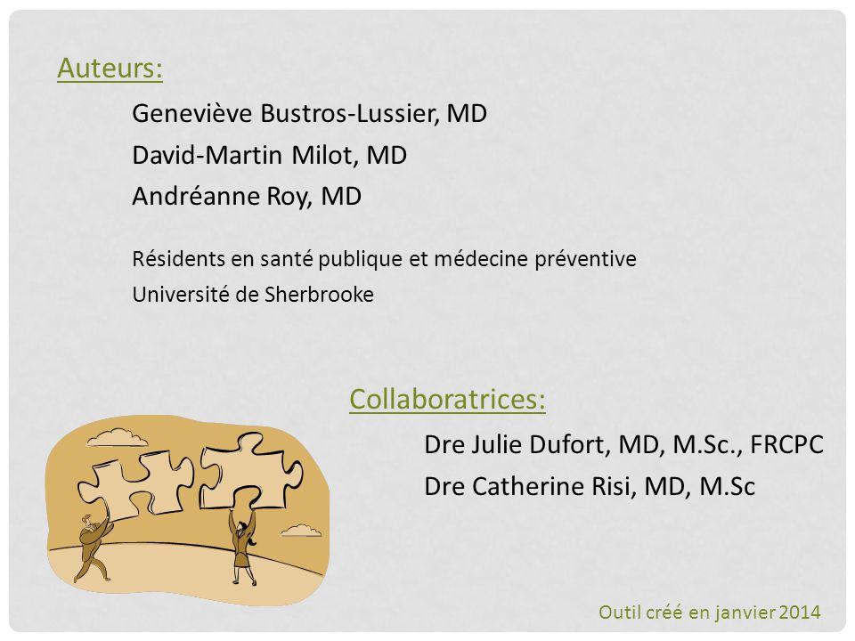 Geneviève Bustros-Lussier, MD