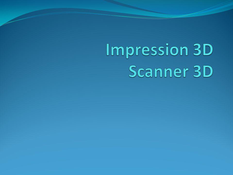 Impression 3D Scanner 3D