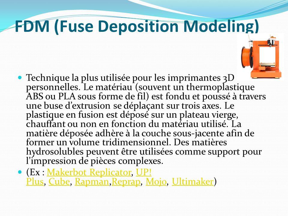 FDM (Fuse Deposition Modeling)