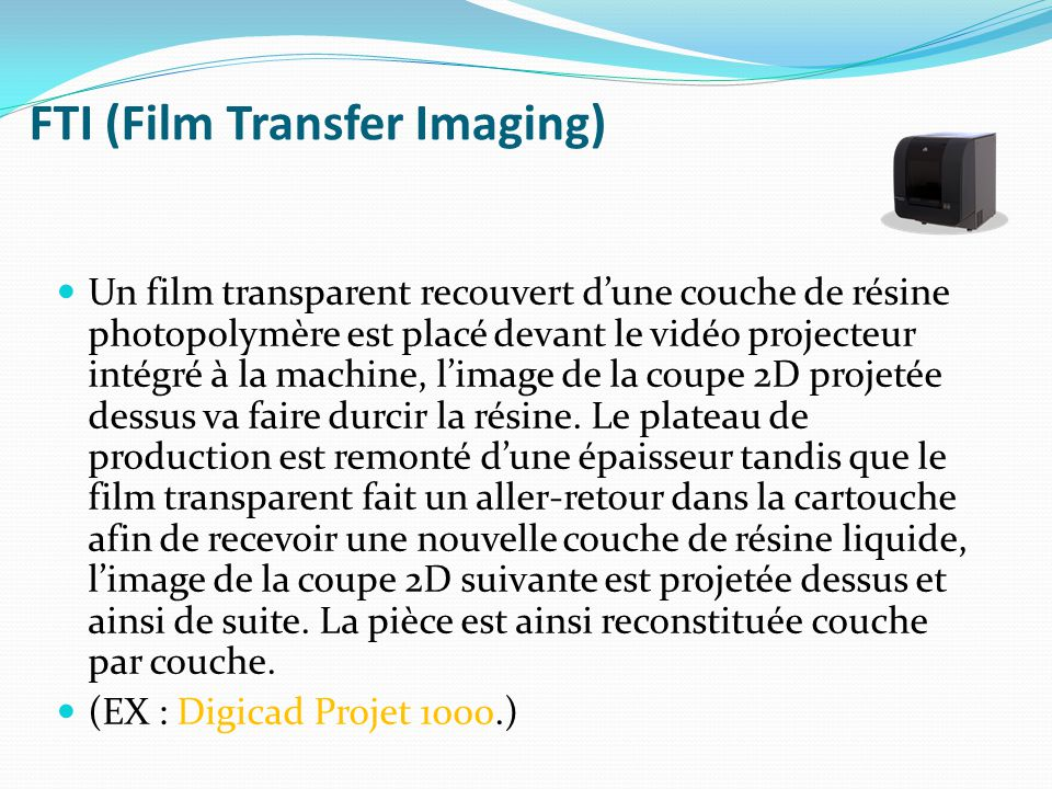FTI (Film Transfer Imaging)