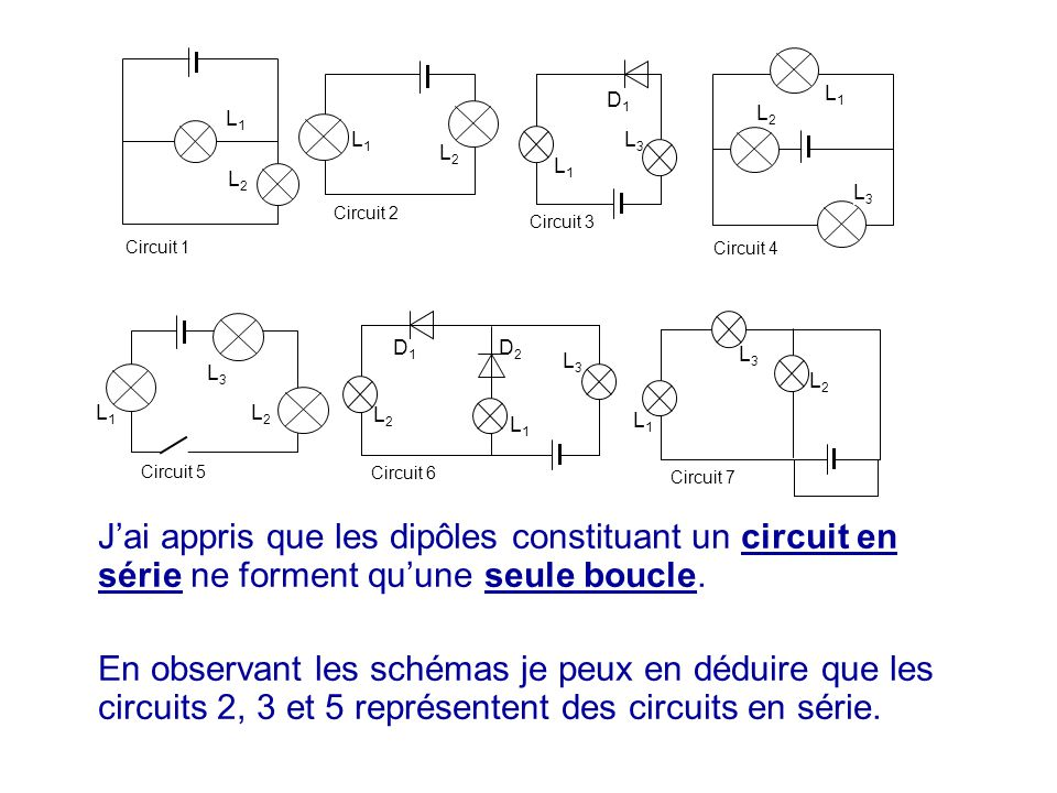L1 L2. L3. Circuit 5. Circuit 1. Circuit 2. D1. Circuit 3. D2. Circuit 6. Circuit 7. Circuit 4.