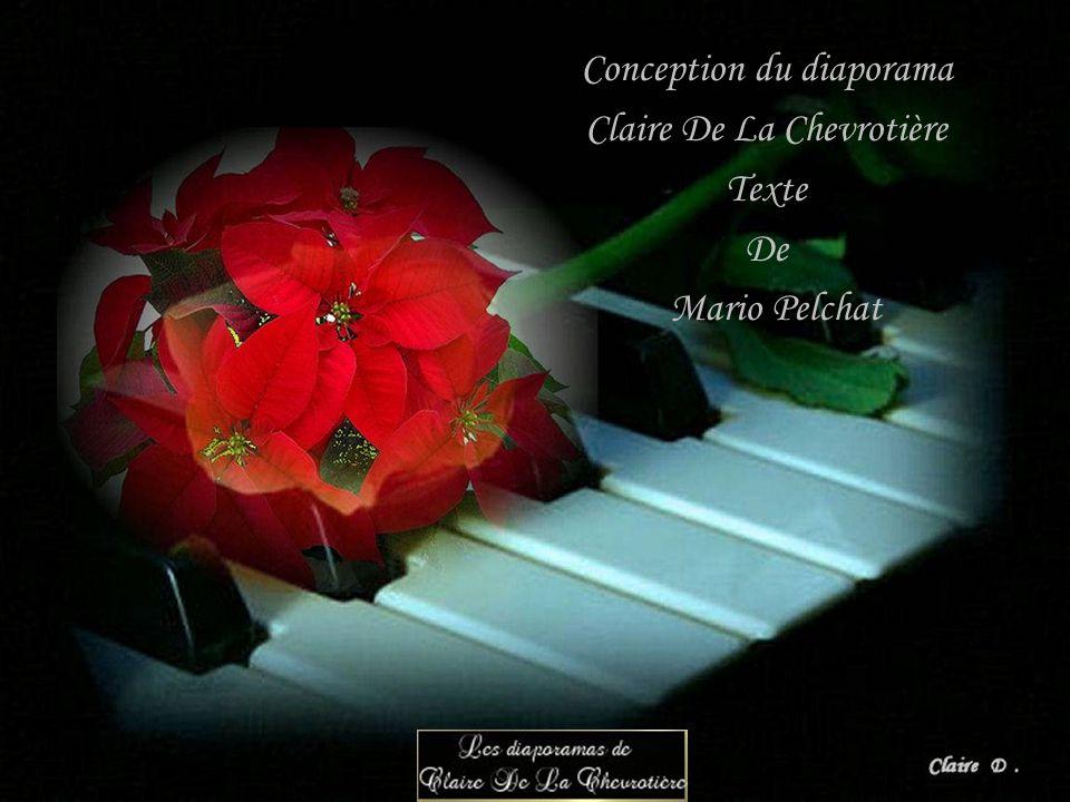 Conception du diaporama Claire De La Chevrotière Texte De