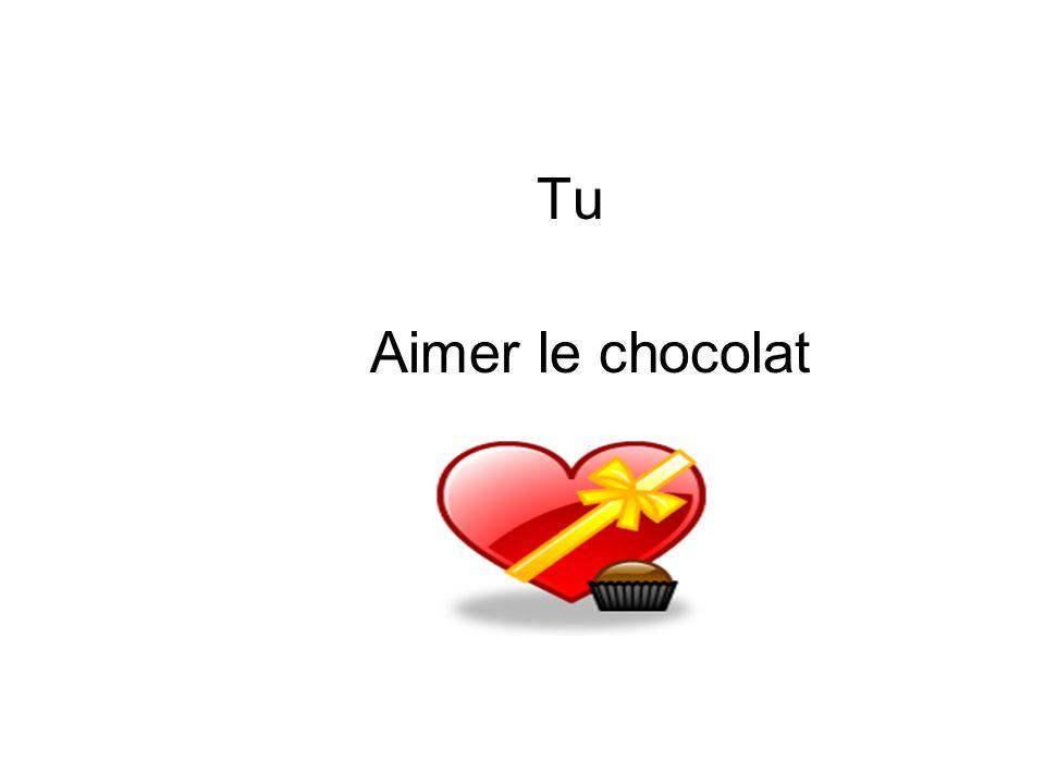 Tu Aimer le chocolat