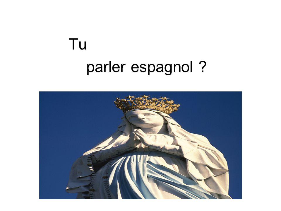 Tu parler espagnol