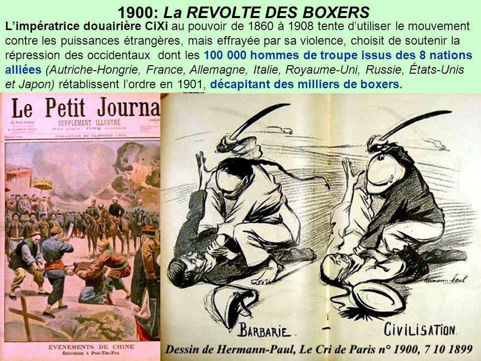 1900: La REVOLTE DES BOXERS
