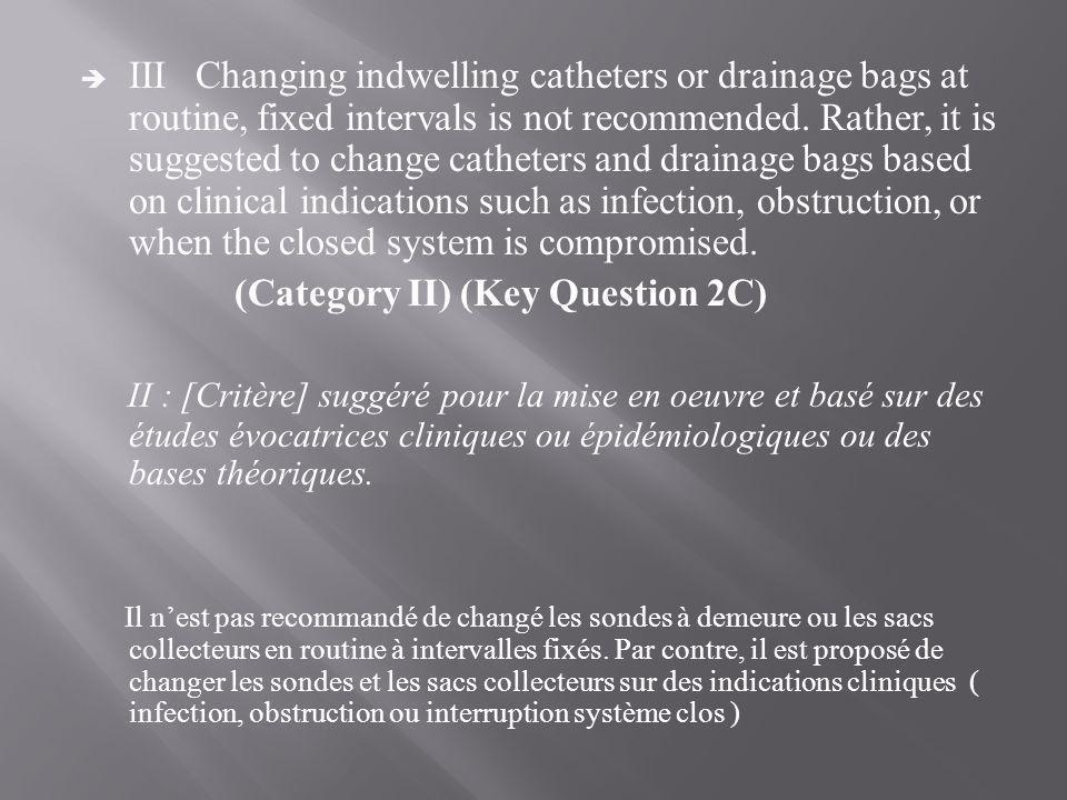 (Category II) (Key Question 2C)