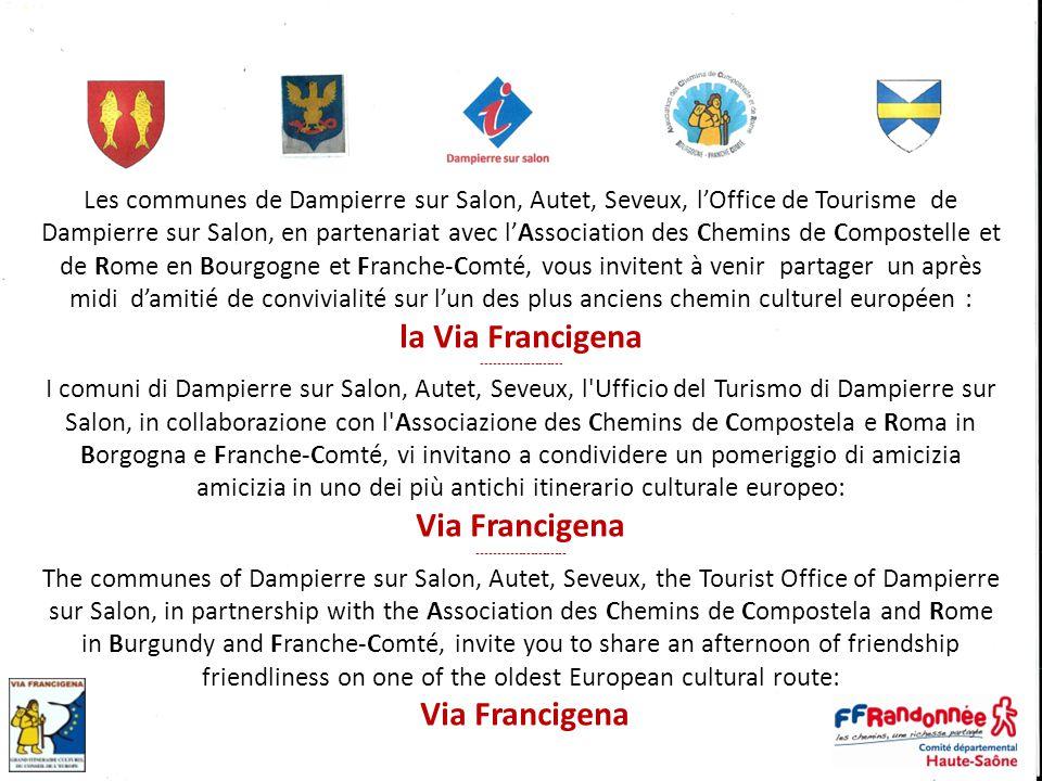 la Via Francigena Via Francigena