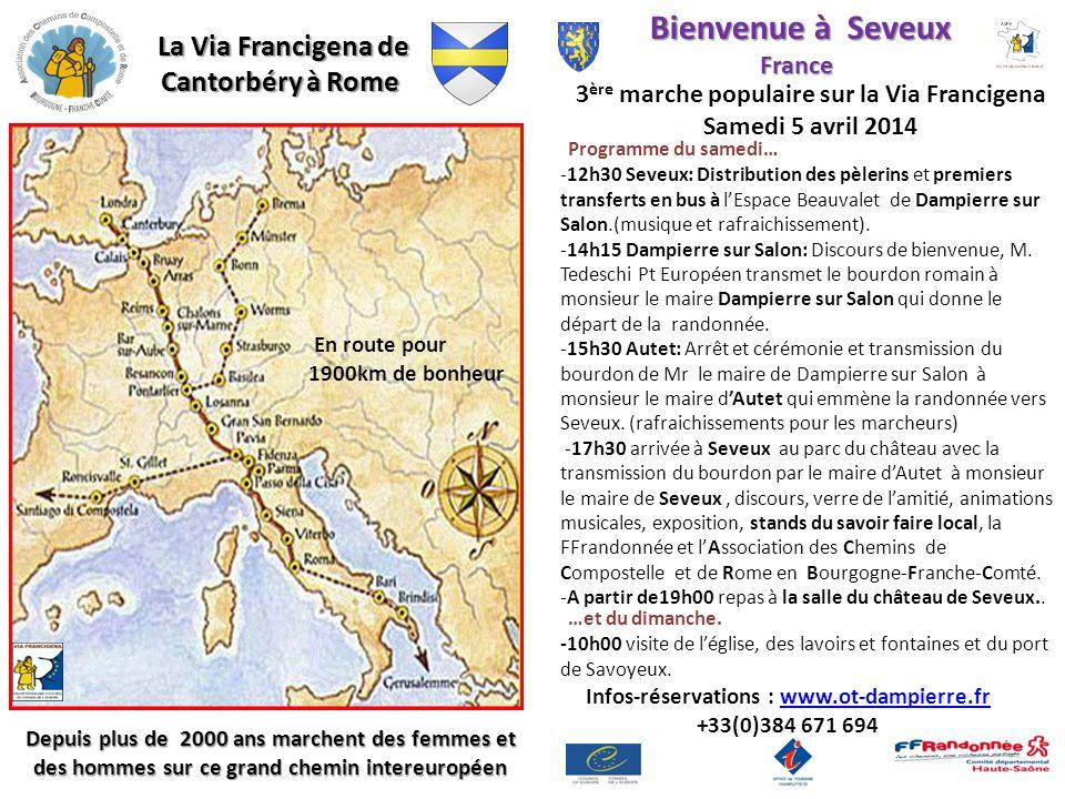 Bienvenue à Seveux France