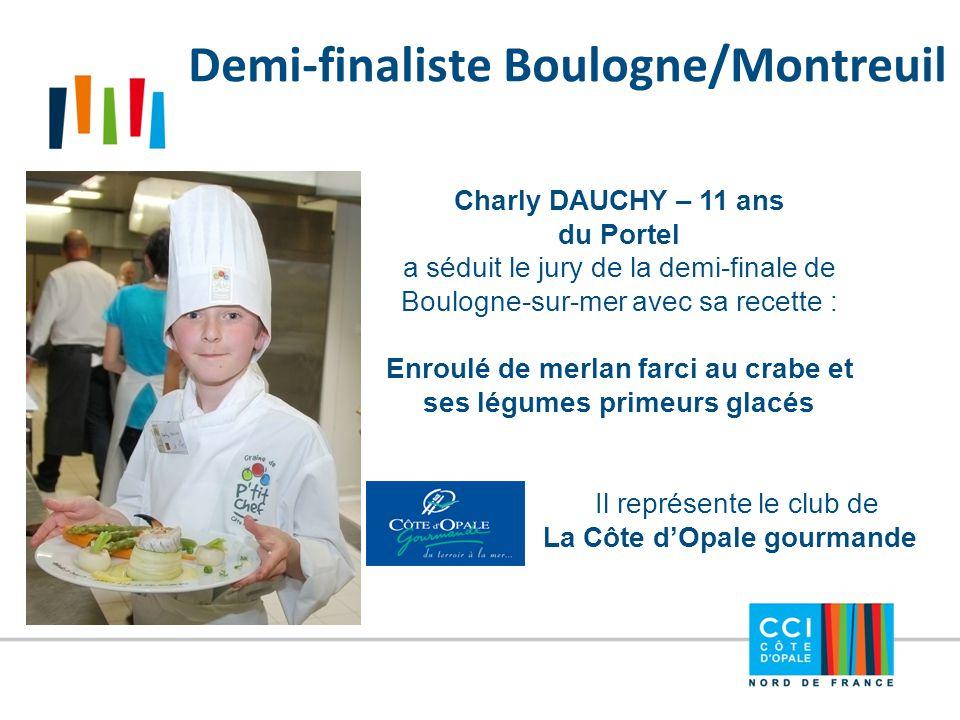 Demi-finaliste Boulogne/Montreuil