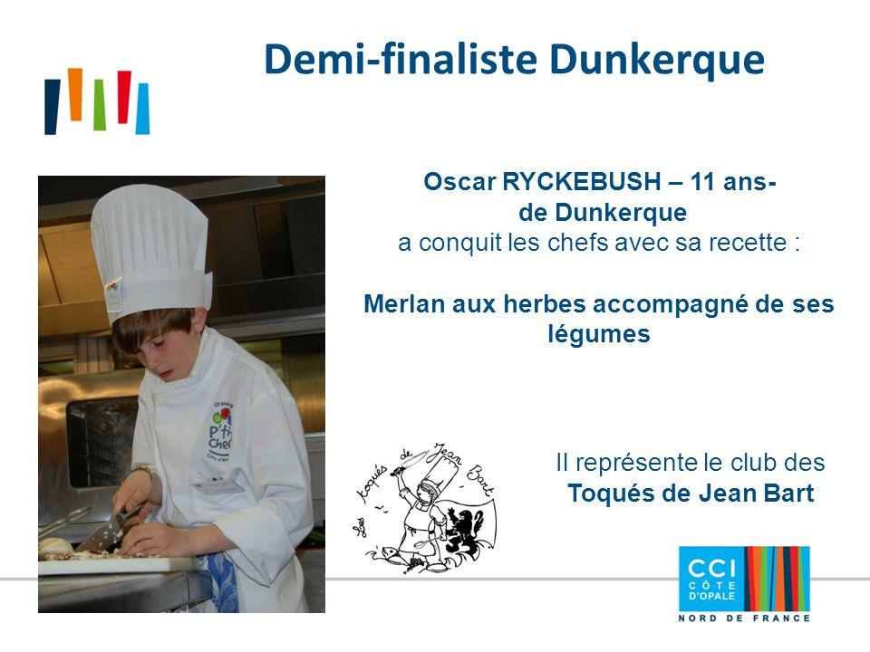 Demi-finaliste Dunkerque