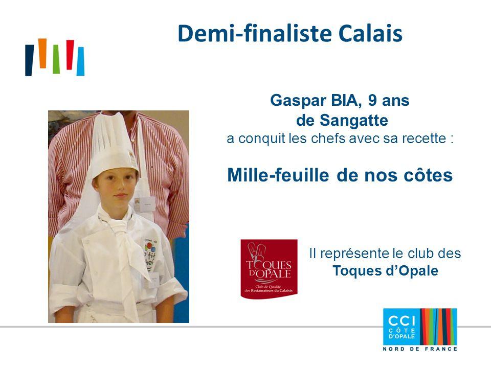 Demi-finaliste Calais