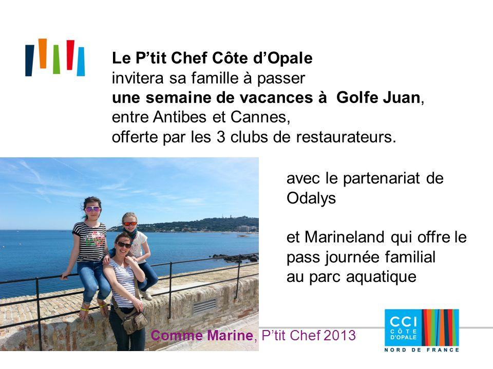 Le P'tit Chef Côte d'Opale invitera sa famille à passer