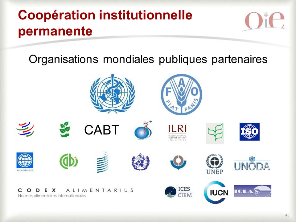 Coopération institutionnelle permanente