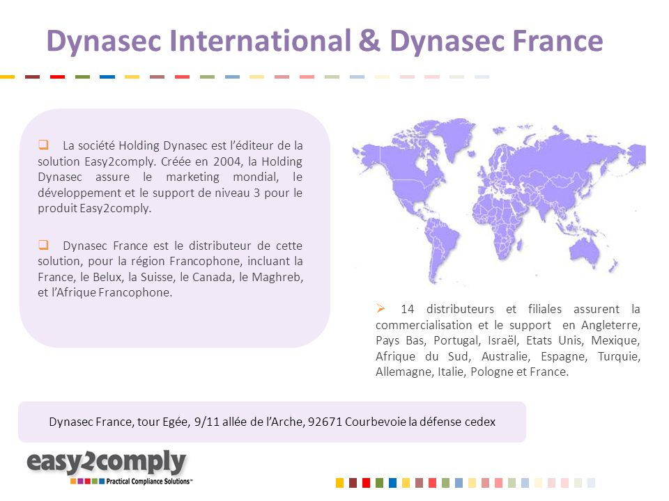 Dynasec International & Dynasec France