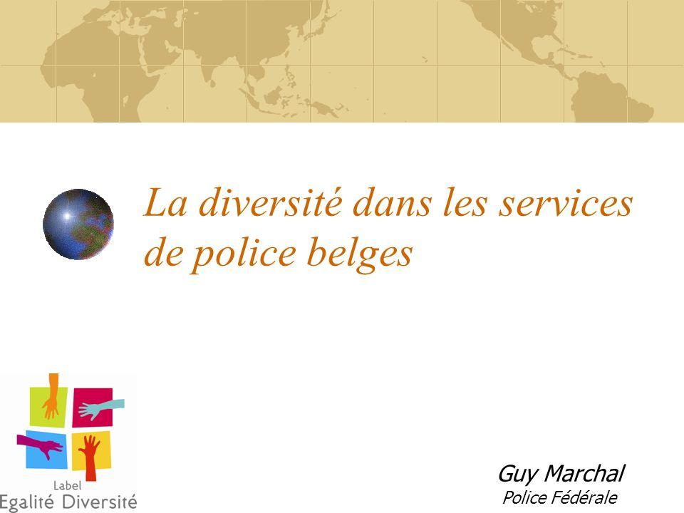 La diversité dans les services de police belges