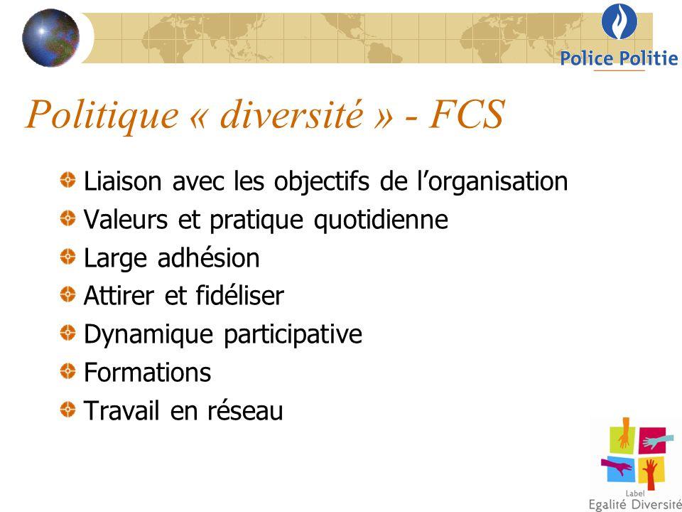 Politique « diversité » - FCS