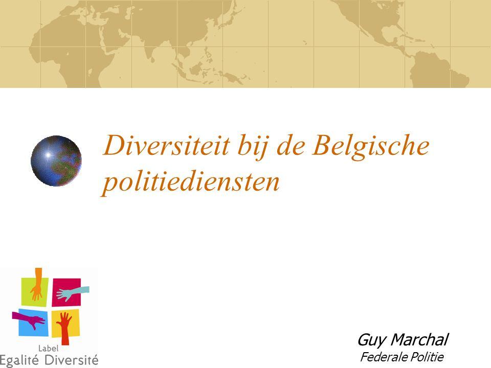 Diversiteit bij de Belgische politiediensten