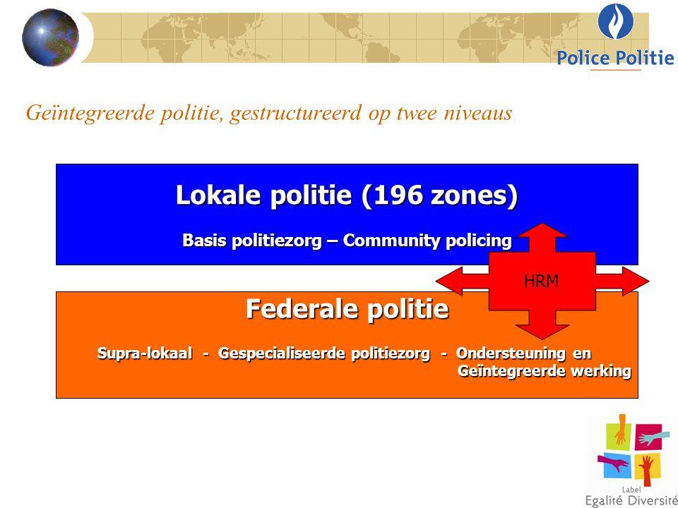 Geïntegreerde politie, gestructureerd op twee niveaus