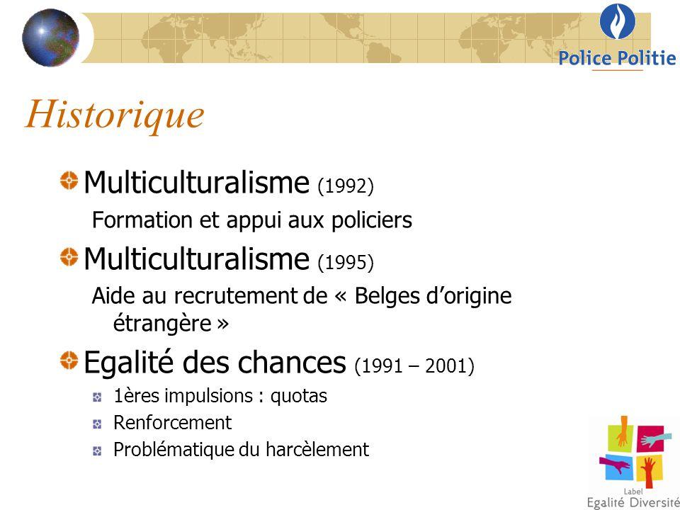 Historique Multiculturalisme (1992) Multiculturalisme (1995)
