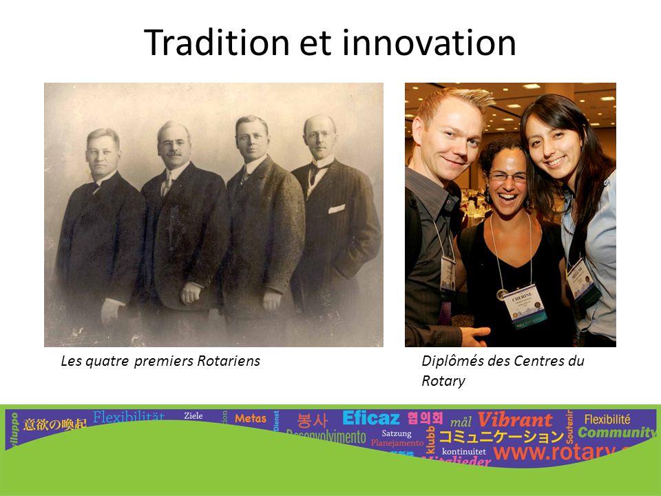 Tradition et innovation
