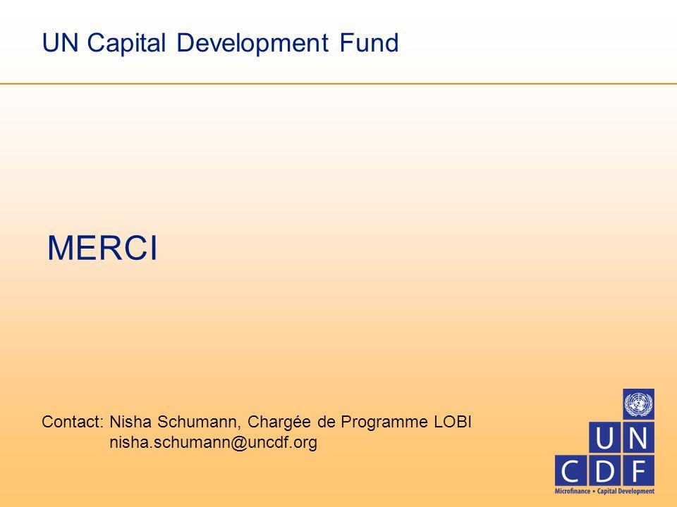 Contact: Nisha Schumann, Chargée de Programme LOBI