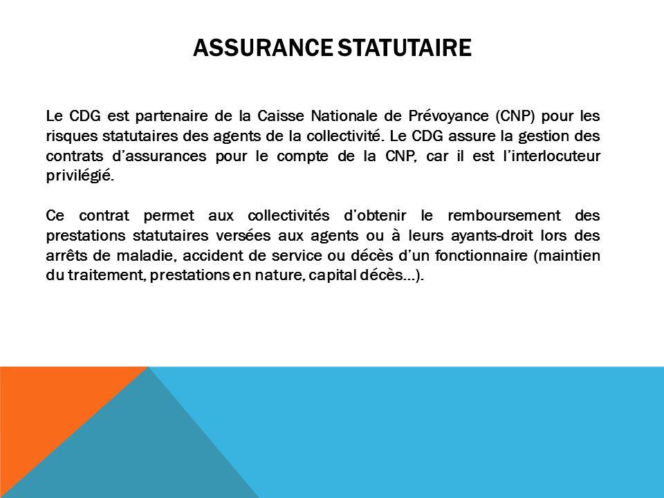 Assurance statutaire