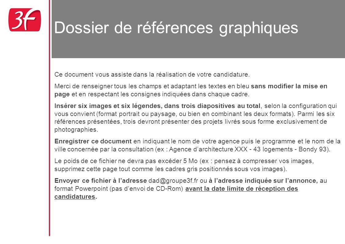 Dossier de références graphiques