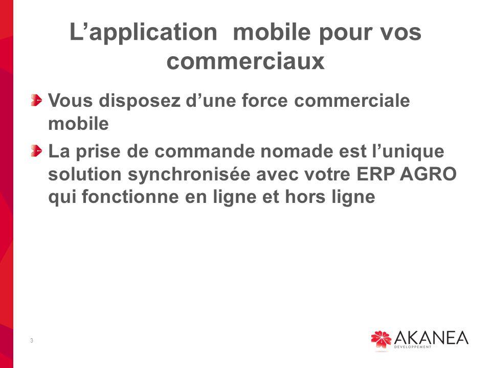 L'application mobile pour vos commerciaux