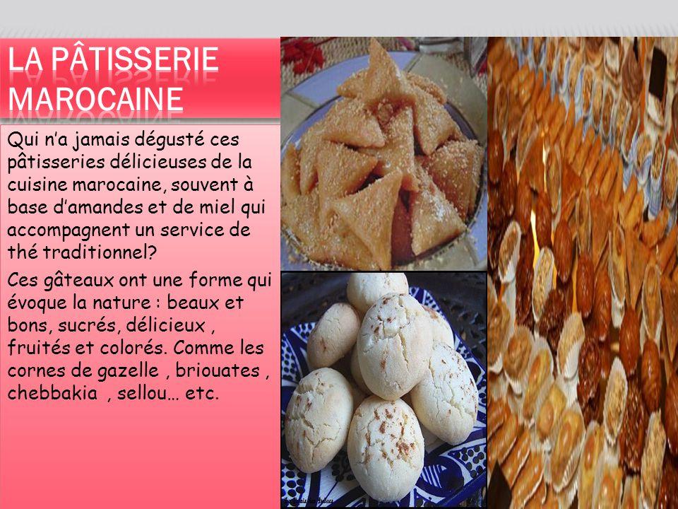 La pâtisserie marocaine