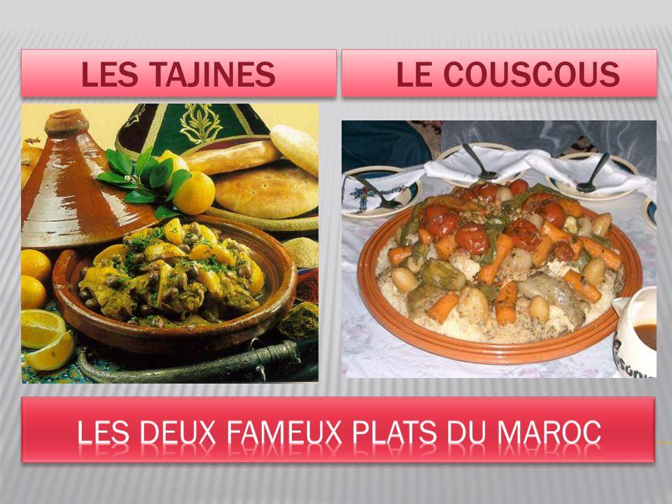 Les deux fameux plats du Maroc